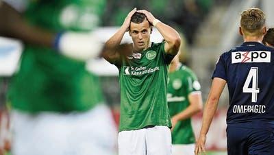 Ausgeknockt mit einem 0:4, das die Euphorie dämpft: Gegen Zürich verpasst St.Gallen die Chance, die Führung auszubauen