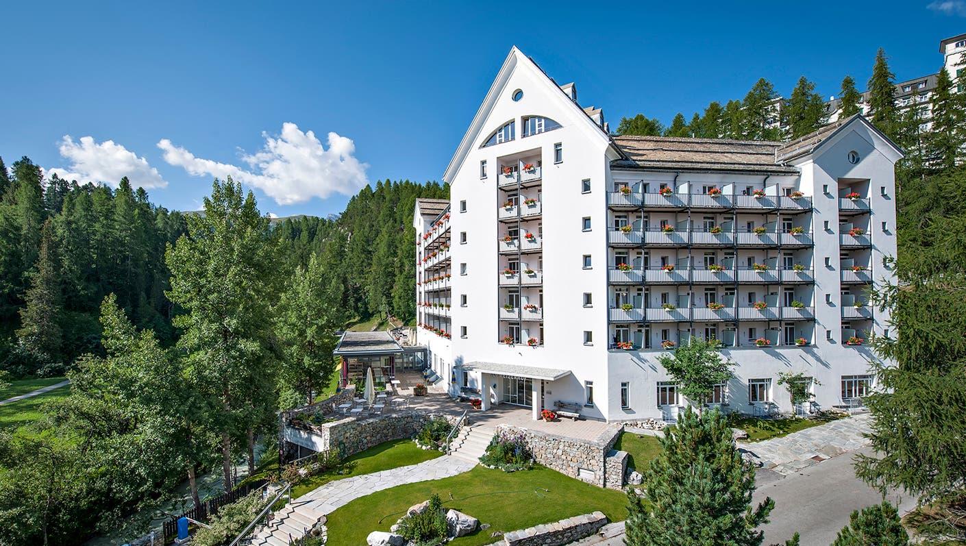 Arenas Resort und Spa Schweizerhof in Sils-Maria