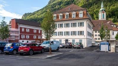 Der GemeindhausplatzAltdorf ist fertiggestellt. (Bild: PD)