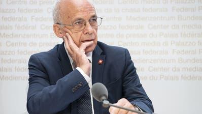 Finanzminister Ueli Maurer sieht in nachhaltigen Anlageprodukten eine grosse Chance für den Schweizer Finanzplatz. (Keystone)