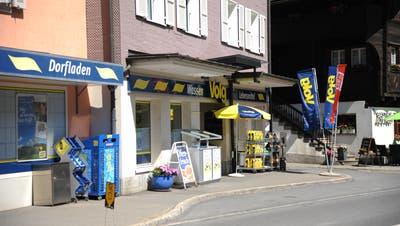 Im Dorfladen Volg in Wassen soll neu auch die Post untergebracht sein. (Bild: Urs Hanhart (Wassen, 7. Juni 2018))