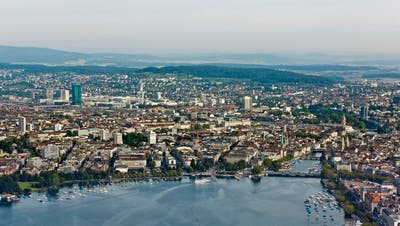 Blick auf Zürich. (Archiv) (Keystone)
