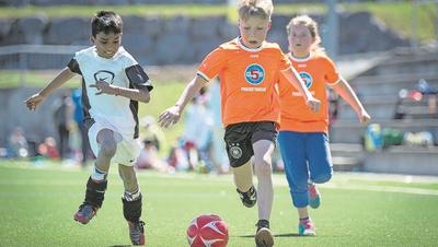 Sport gilt als Integrationstreiber, doch in der Schweiz ist das Gegenteil der Fall. (Bild: Benjamin Manser)