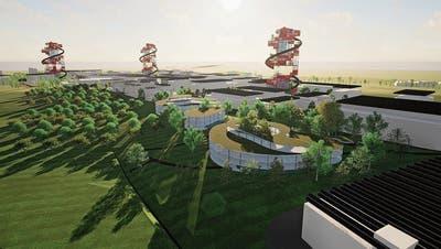 Visionäre Ideen für das Hünenberger Industriegebiet Bösch