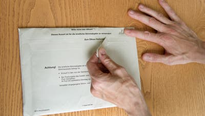 Am vergangenen Sonntag gab's in Hergiswil, Ennetbürgen und Stansstad eine Urnenabstimmung als Ersatz für die ausgefallene Gemeindeversammlung. (Bild: PD)