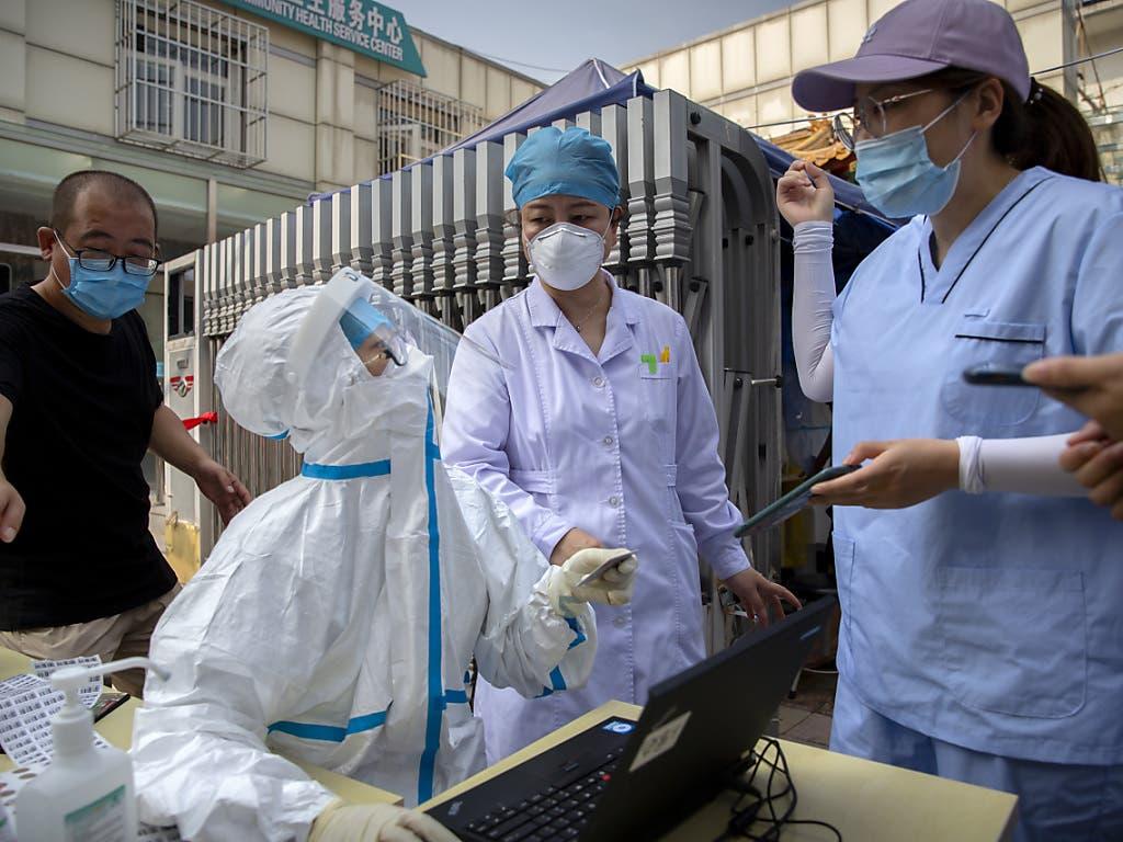 In China wurden erneut mehrere Millionen Menschen einem Coronavirus-Test unterzogen.