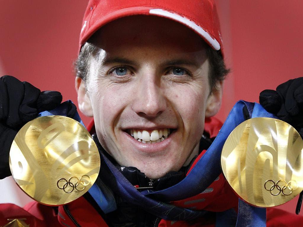 Und wieder zweimal Olympia-Gold: Simon Ammann war der Held der Winterspiele 2010 in Vancouver