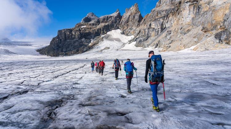 Gletschertrekking im Banne des Tödi - Juli/August 2020