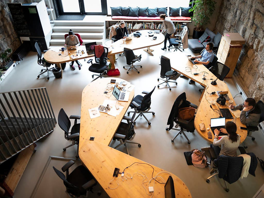 An 60 bis 80 Bahnhöfen in der Schweiz soll es bis 2030 Coworking Spaces geben. Im Bild das Projekt Impact Hub im Zürich Viadukt in Zürich.