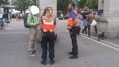 Luzerner alt Kantonsrätin landet nach einer Anti-Corona-Mahnwache in der Arrestzelle