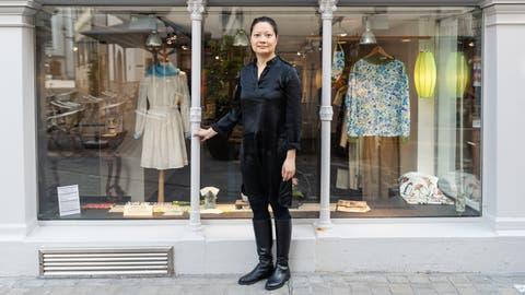 Tauscht St.Gallen gegen das internationalere Zürich ein: Carrie Sum Waldmeier zieht im September mit ihrem Laden Silk'n'Tea weg aus der Stadt. (Bild: Nik Roth)