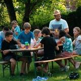 Das Sommerfest - eines der Angebote im Rahmen des Weinfelder «Connect»-Programms - kam bei den Jugendlichen sehr gut an. ((Bild: PD))