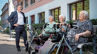 Roger Wickigab den Luzerner Alters- und Pflegeheimen eine Stimme – nun gibt es beim Präsidium von Curaviva einen Wechsel