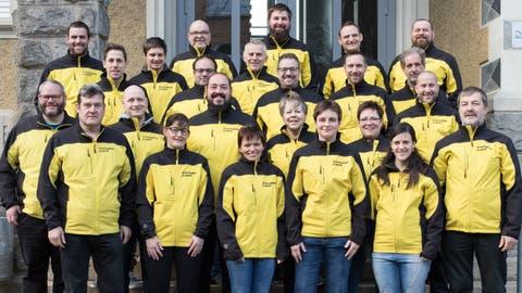 Das 27-köpfige OK steht für die Austragung des Urner Kantonalschwingfests 2021 weiterhin zur Verfügung. (Bild: PD)