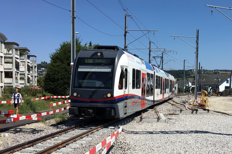 Top: Platz 3 bei den Bahnen hat sich die Aargau Verkehr AG geholt. Sie betreibt die Wynental- und Suhrentalbahn, die Bremgarten-Dietikon-Bahn und bald die neue Limmattalbahn.