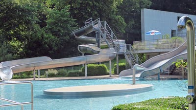 Die Badi Flawil ist bereit, ab Samstag tummeln sich im Wasser die Gäste. (Bild: PD)