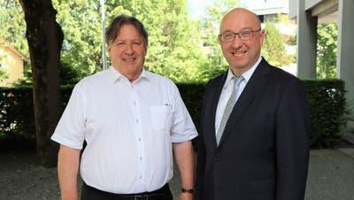 Der Buchser Stadtrat Hans Peter Schwendener übernimmt das Präsidium des Werdenberger Binnenkanal Unternehmen von Beat Tinner. Dieser musste auf Grund seiner Wahl in die St.Galler Regierung vom Amt zurücktreten. (Ralph Dietsche)