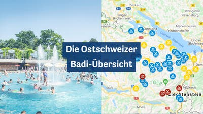 Die grosse Ostschweizer Badi-Übersicht: Das sind die Öffnungszeiten undCoronaregelnin Ihrer Lieblingsbadi