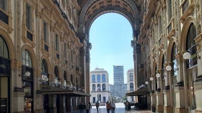 Unser Autor hat direkt nach der Grenzöffnung Mailand besucht – und fand eine Stadt in Starre