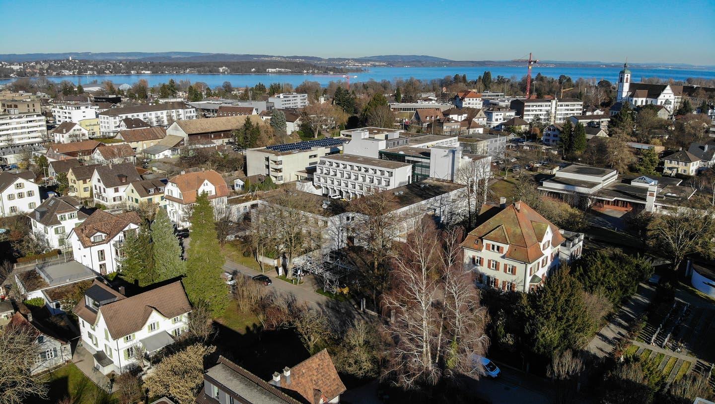 Blick über die Stadt. (Bild: Reto Martin (Kreuzlingen, 6.Februar 2020))