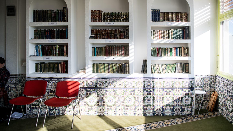 Blick in die Dar-Assalam-Moschee in Kriens. (Bild: Nadia Schärli (Kriens, 16. Oktober 2019))