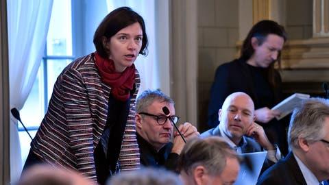 Bettina Surber, SP-Fraktionspräsidentin im Kantonsrat. (Regina Kühne (18. Februar 2020))