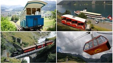 LZ-Quiz #11: 25 Bilder, 25 Fragen– erkennen Sie alle Zentralschweizer Bähnli?