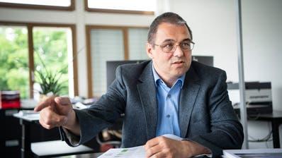 Wirft dem Baudepartement Formalismus vor: der Gossauer Stadtpräsident Wolfgang Giella. (Ralph Ribi (6. Juni 2019))