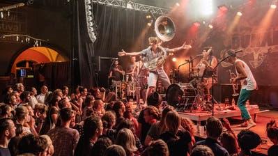 Die deutsche Pop-Folk-Band Bukahara trat vergangenes Jahr am Kulturfestival auf. (Bild: Urs Bucher)