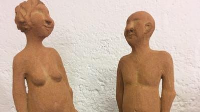 Figuren der Wigoltinger Künstlerin Eva Engeler. (Bild: PD)