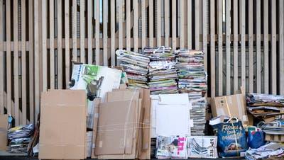 Insgesamt wurden im vergangen Jahr 26'040 Tonnen Karton und Papier zwischen Bodenseeund Hörnli gesammelt. (Sandra Ardizzone / AGR)
