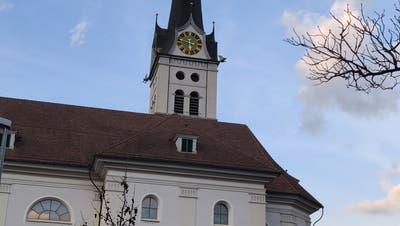Die Pfarrkirche Alpnach. (Bild: Markus von Rotz, (2. März 2019))