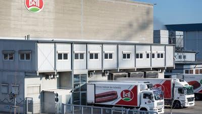 Der Betrieb von Bell in Basel. (Georgios Kefalas / KEYSTONE)