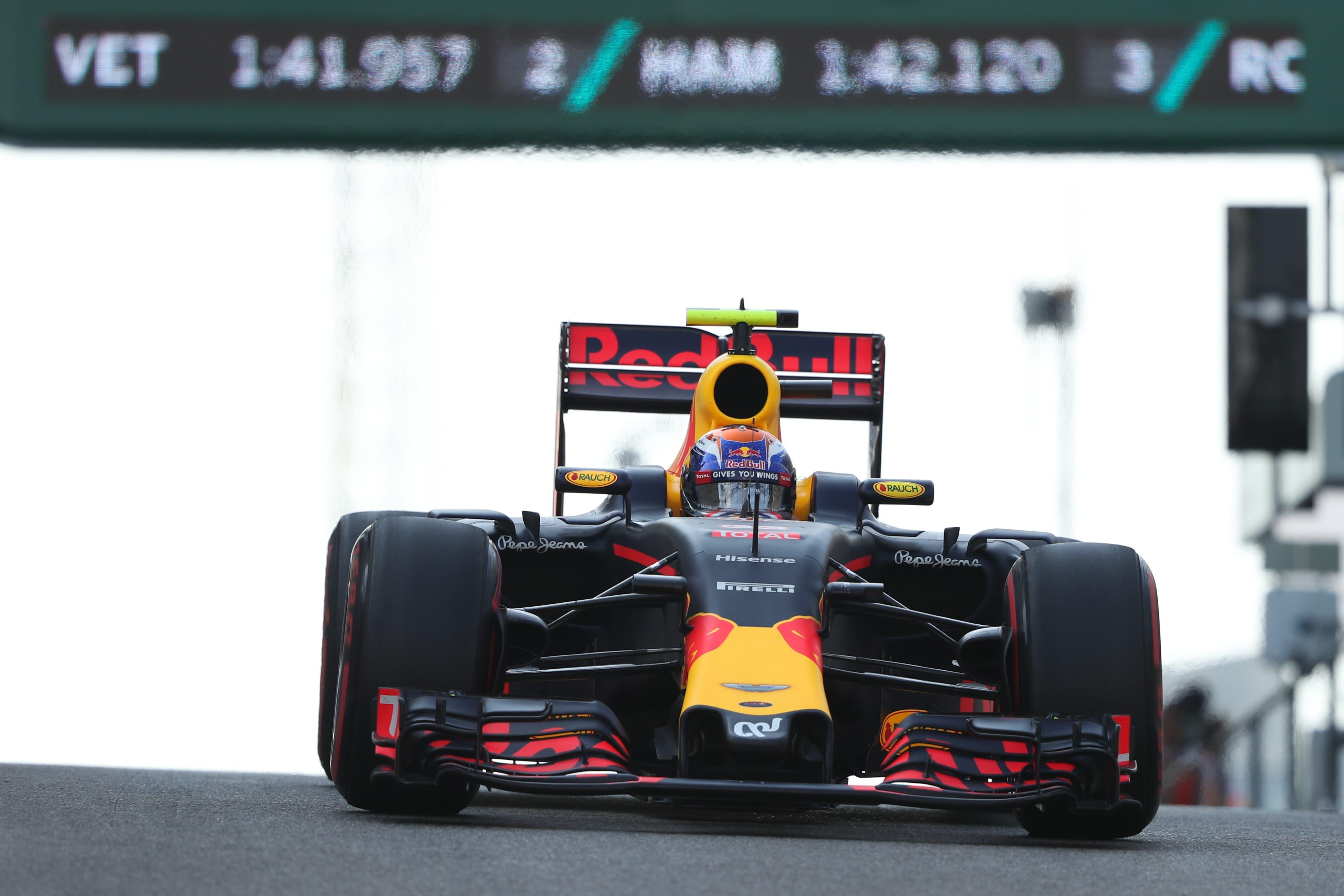 Red Bull steigt mit Max Verstappen (22, Belgien) und Alexander Albon (24, Grossbritannien/Thailand) in die Saison.