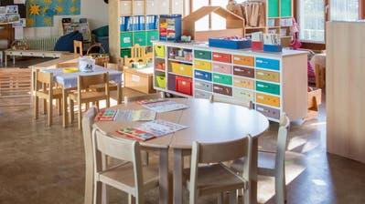 KindergartenSchulhaus Emmen DorfFotografiert am 22. April  2020 in Emmen DorfNadia Schärli / Luzernerzeitung (Bild: Nadia Schärli (Emmen,)