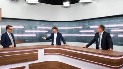 «Die Schweiz hat umsichtig reagiert – jetzt müssen wir nachjustieren, wo nötig»:Benedikt Würth und Roland Rino Büchel im TVO-Talk zu den steigenden Coronazahlen