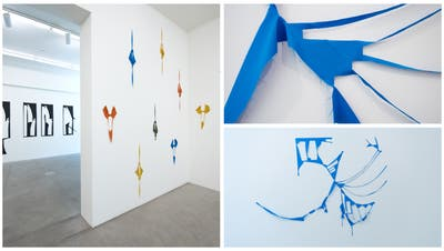 Künstlerin Marion Baruch öffnet mitStoffresten den Blick des Betrachters