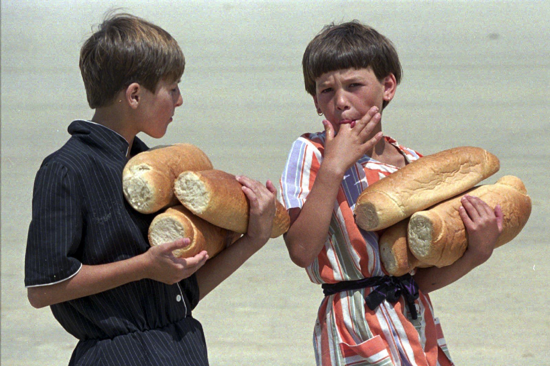 Die Not in Srebrenica war schon ab 1992 gross. Zeitenweise gab es in der Stadt kaum Lebensmittel.