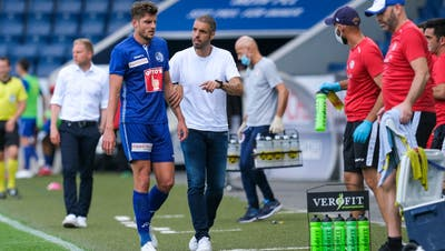 FCL-Trainer Fabio Celestini glaubt, dass bei den Spielern noch genug Energie im Tank ist. (Bild: Martin Meienberger/Freshfocus (Luzern, 5. Juli 2020))