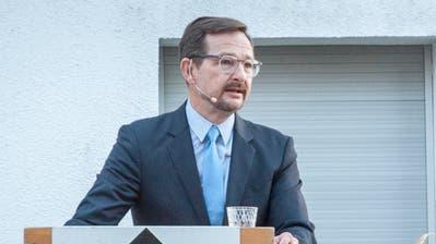 OSZE-Generalsekretär Thomas Greminger an der Augustfeier in Bussnang. (Andrea Stalder (1. August 2019))