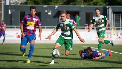Mittelfeldspieler Dario Ulrich kehrtgegen Chiasso nach einer Gelbsperre wieder zurück ins Team. (Bild: Boris Bürgisser (Kriens, 1. Juli 2020))