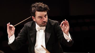 Grosser Abschied mit Mahler, Richard Strauss und Strawinsky: Chefdirigent James Gaffigan bestreitet seine letzte Saison in Luzern. (Bild: Franca Pedrazetti (Luzern, 17. Oktober 2019))