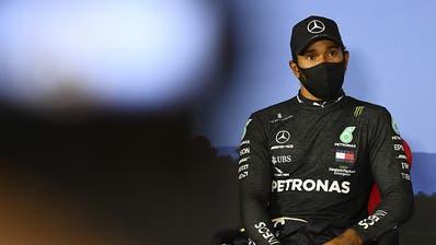 Pole-Position für überlegenen Lewis Hamilton