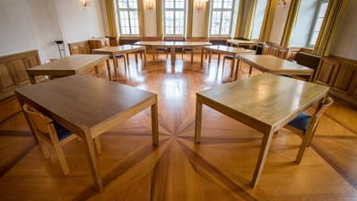 Bürgersaal im Rathaus: Ort der Stadtratssitzungen. (Reto Martin)
