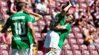Der FC St.Gallen ist dank eines Kraftaktes und Goalie Zigi wieder Leader– Trainer Peter Zeidler: «Dieses Unentschieden hat einen grossen Wert für uns»