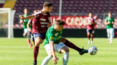 Der FC St.Gallen und Servette trennen sich 1:1