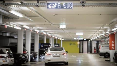 Nach Luzerner Vorbild: Ein Parkleitsystem für Elektroautos soll auch in St.Gallen zum Einsatz kommen