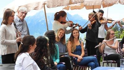 Ein Platz an der Sonne für junge Musiker: Die «Bergsonne» auf der Rigi wird zum Klanghotel