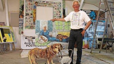 In Chicago geboren, in Trogen zu Hause: Künstler Mark Staff Brandl «verschweizert» sich im Appenzellerland  und spricht über Parallelen zwischen den USA und Mussolini