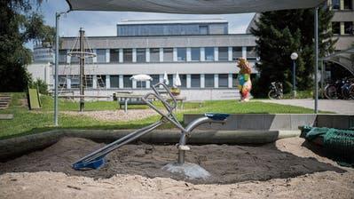 Das Ostschweizer Kinderspital am jetzigen Standort im Osten der Stadt St.Gallen.